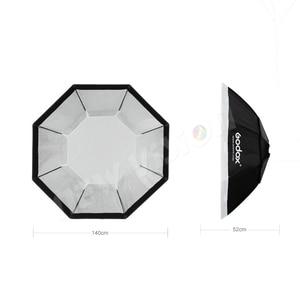 Image 3 - Godox 95cm 120cm 140cm stüdyo sekizgen petek izgara Softbox reflektör softbox Bowens dağı stüdyo flaş ışığı için flaş ışığı