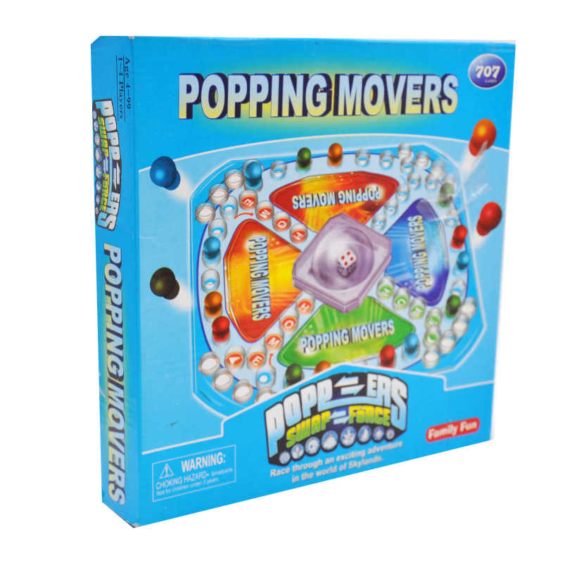 Головоломка настольные игрушки 3D Летающие шахматы Семья родителей интерактивные вечерние Детские мозги куртка из искусственной кожи для мальчиков и подарок для девочек F4