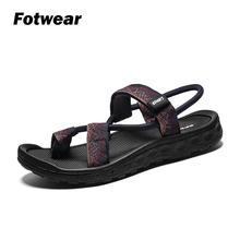 Fotwear Mens Sandals Flip Flop Men casual shoes PU strip upper Fashion National style Skin Affinity Antiskid and Lightweight