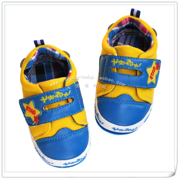 Shote danny sports soft wind slip-resistant outsole toddler shoes single shoes spring and autumn baby boy