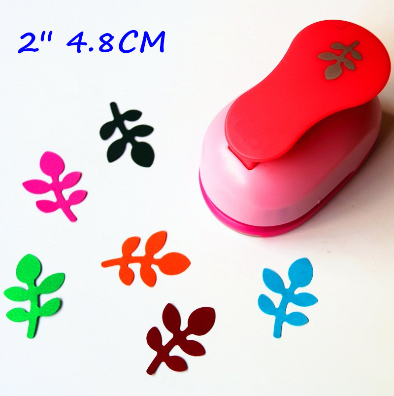 2 Inch (about 4.8cm) Leaf Design Of Craft Punch Eva Foam Maker Paper Punches For Scrapbooking