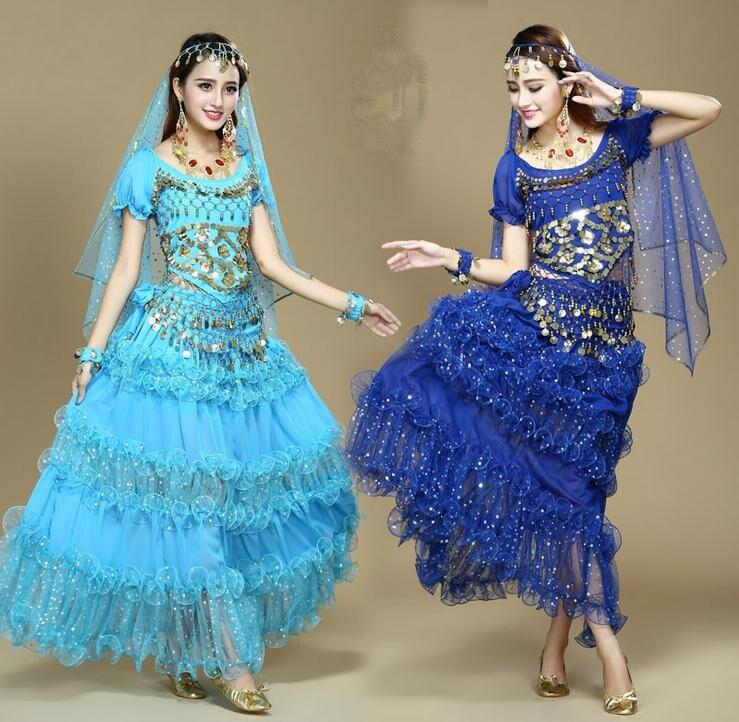 Индийские девушки на юбках