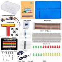 SunFounder Ultimate Starter Kit For Raspberry Pi With Detailed Manual For Beginners UK Plug