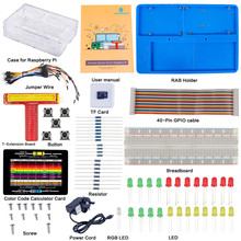 Big discount SunFounder Raspberry Pi 3/2/B+ Ultimate Starter Kit 8G TF card Raspbian Preloaded Detailed Manual for Beginners UK Plug