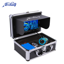 "Erchang Fish Finder Underwater Fishing Camera7"" 1000TVL HD Waterproof  Video Underwater Camera 12 PCS Infrared Lamp ICE Fishing"