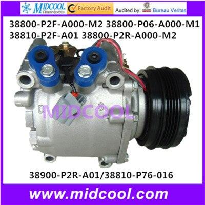 Высокое качество авто ac компрессора TRS090 38800-P2F-A000-M2 38800-P06-A000-M1, 38810-P2F-A01 38800-P2R-A000-M2 38900-P2R-A01 ...