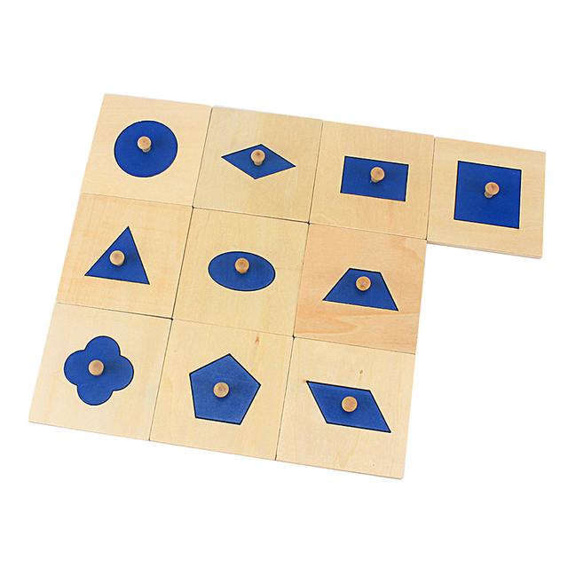 Ten Geometric Boards