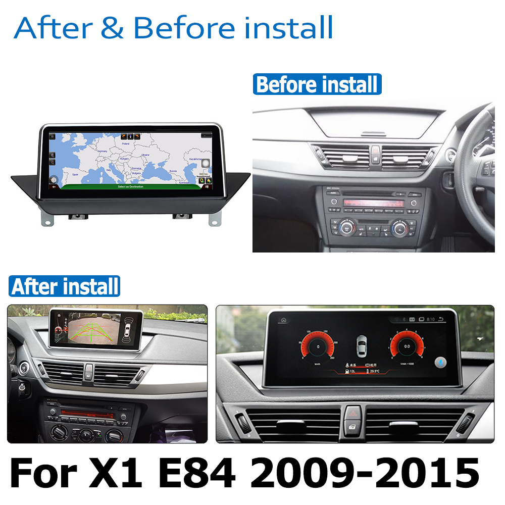 מערכת ניווט GPS DVD לרכב נגן עבור BMW X1 E84 2009 ~ 2015 מערכת אנדרואיד 8.0 עד Autoradio ניווט GPS (3)