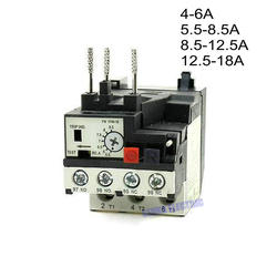 Motor Protector Three Phase 3P 6A,8.5A,12.5A,18A Thermal Overload Relay RHN-10K