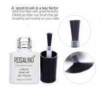 ROSALIND Gel 1S 10ML Gel Nail Polish Diamond Glitter Gel Varnish Semi Permanent Needed Base Top Coat UV&LED Gel Lacquer