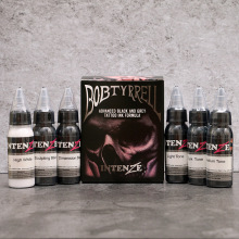 6 Basic Tattoo Ink Colors Set Developed By Tyrrell Bob 1oz (30ml) /Bottle Permanent Beauty Makeup Tattoo Pigment цены