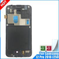 For Samsung Galaxy J2 Pro 2018 J250 J250F SM J250F/DS LCD Display Touch Screen Digitizer Assembly Replacement with Frame