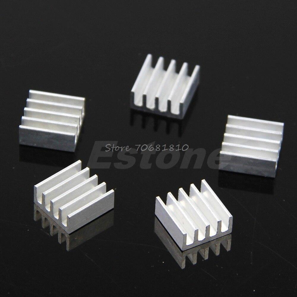 5Pcs/set High Quality Aluminum Heat Sink For Memory Chip IC 11*11*5mm -R179 Drop Shipping картридж новая вода k990