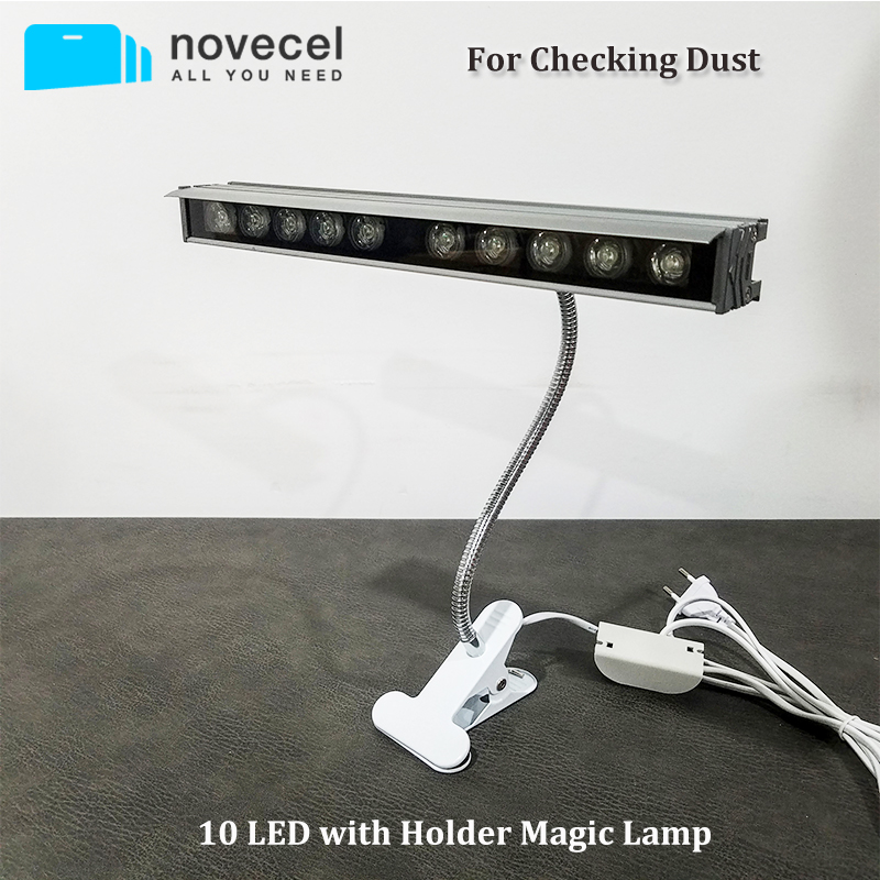 Novecel New Magic Lamp For Checking Dust -10 LED with Securing Clip HolderNovecel New Magic Lamp For Checking Dust -10 LED with Securing Clip Holder