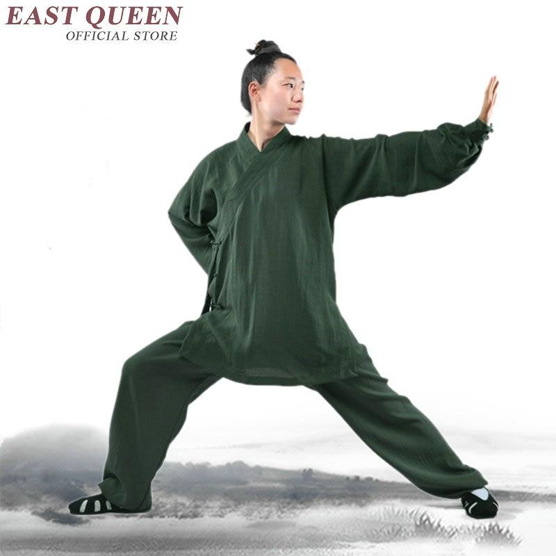 Kung fu uniforme kung fu vêtements tai chi uniforme femmes hommes tai chi vêtements AA2708 Y