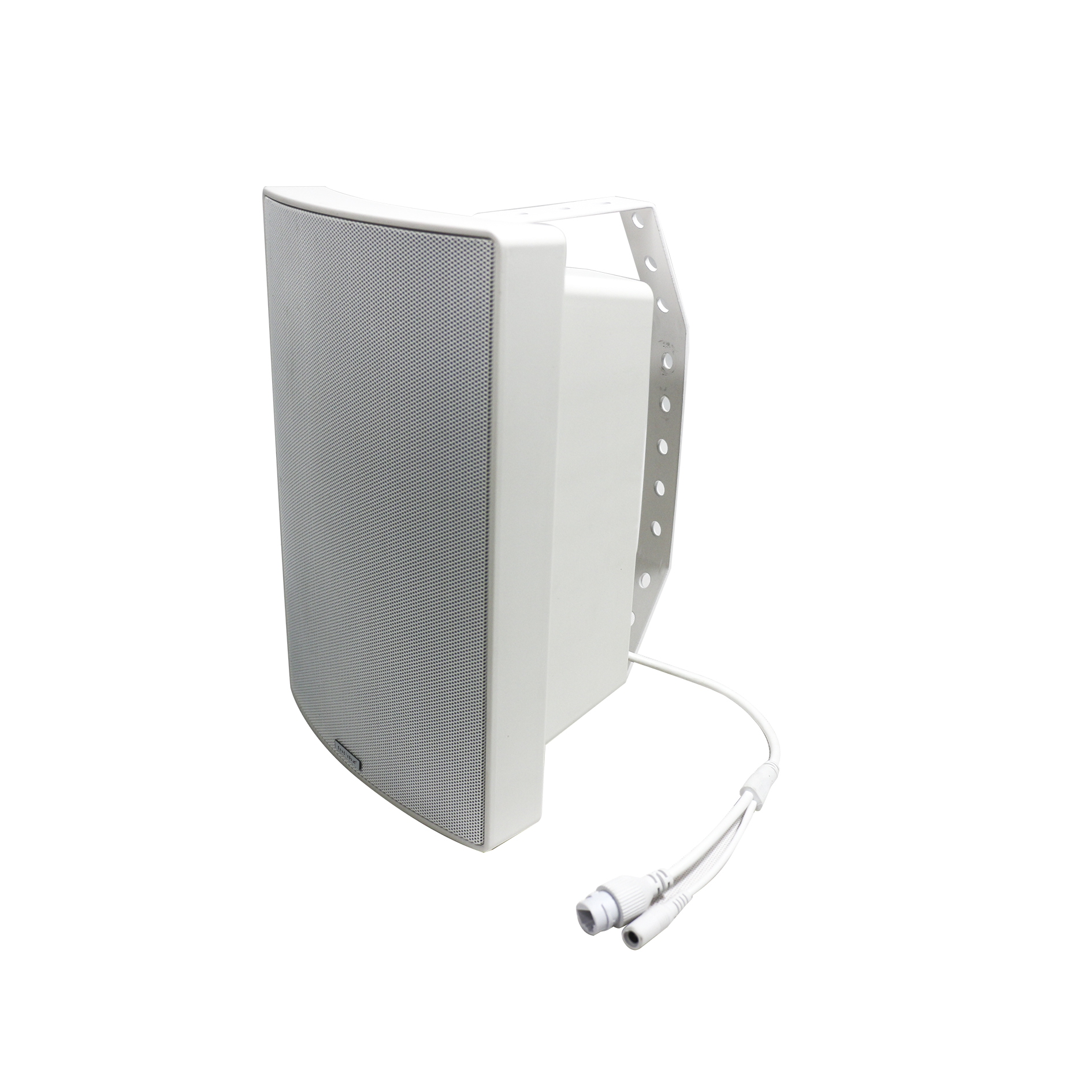 Outdoor Dante network Wall mount Speaker 30W with DSP,RJ45 port, Waterproof IPX4 body, supports PoE power supply