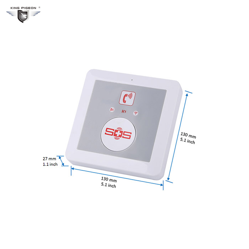 SOS Alarm Wireless GSM Dialer Android APP Elderly Alarm System Home Security SOS Panic Button Call SMS Controller Burglar K1 цена