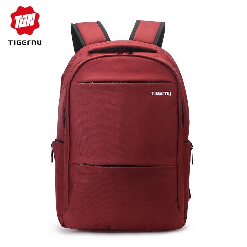 100% Wahr Tigernu Laptop 15-17 Zoll Rucksack Für Computer Männer Rucksack Notebook Tasche Für Männliche Wasserdichte Nylon Rucksack Mochila Famale Tasche