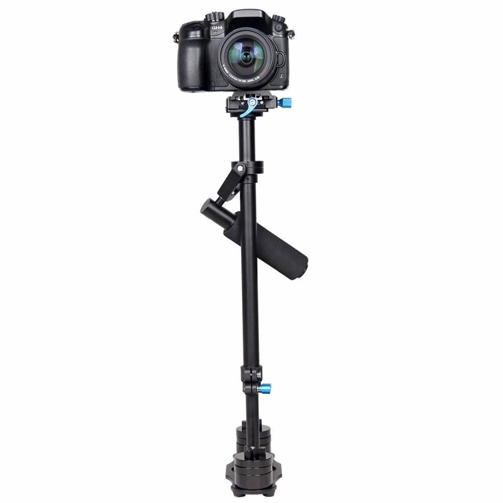 Professional S60L 61cm Aluminum Handheld Stabilizer for Steadicam for CANON / Nikon D3300 DSLR Camera DV Camcorder /GoPro