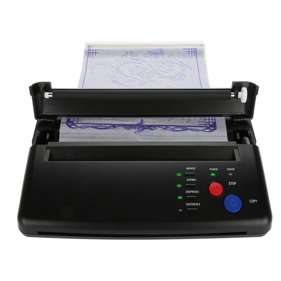 Image 5 - Tattoo Transfer Machine Printer Drawing Thermal Stencil Maker Copier for Tattoo Transfer Paper Supply permanet makeup machine-in Tattoo Stencils from Beauty & Health
