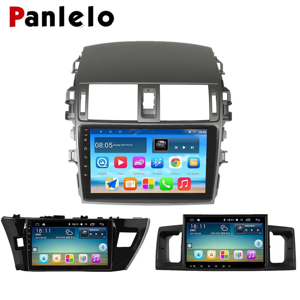 Panlelo для Toyota Corolla 2011 мультимедийный автомобильный Радио авторадио 2din видео плеер навигация Android 7,1 для Toyota Corolla 2008