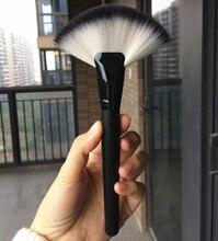 Pro Big Fan Brush Makeup Powder Brushes Soft Blend Loose Foundation Blush Highlighting Make Up Tool