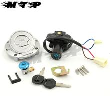 Система зажигания переключатель топливного газа Кепки крышки топливного бака Блокировка сиденья набор ключей для Yamaha TTR 1300 2001-2010 2002 2003 2004 2005 2006 2007 2008 2009