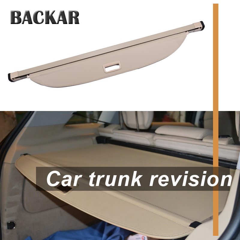 Backar 1set For Mercedes Benz GLC Car Rear Trunk Cargo Cover Car-styling Black Security Shield Shade Auto Accessories