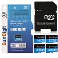 SunDigit Brand Micro SD Card Class 10 Memory Card 16GB 32GB 64GB 128GB Microsd TF Card For Cell Phone Mp3 Video Class10 32 GB