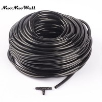 30m NuoNuoWell PVC 4/7mm Soft Hose Plant Micro Drip Irrigation Garden Watering Parts Water Pipe Tube Sprinkling