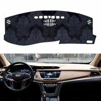 For Cadillac XT5 2016 2019 Flannel Dashmats Dashboard Covers Dash Pads Car Mat Carpet Sun Shade Custom 2017 2018