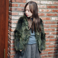 New Children Real Silent Fur Coat Baby Girls Autumn Winter Thick Warm outerwear Fur Clothing Coat Kids Solid Fur Clothing
