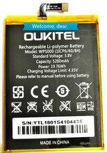 Oukitel WP5000 Battery 100% Original 5200mAh Backup Replacement For Mobile Phone