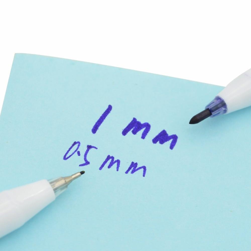 2pcs kirurški skin marker tattoo olovka (0.5mm, 1mm) s papira vladar - Tetovaže i tjelesna umjetnost - Foto 5