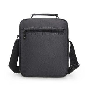 Image 3 - 높은 품질 서류 가방 남자 작은 메신저 가방 남자 방수 옥스포드 비즈니스 핸드백 여자 미니 어깨 가방 9.7 인치 Ipad
