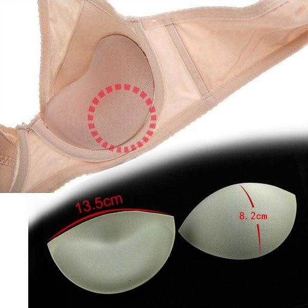 abe1d0bbc2 recipe  bra pad inserts foam  23 . 20pairs Off white Bra Cup Soft Foam Pads  Push Up Breast ...