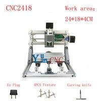 CNC 2418 GRBL Control Diy CNC Machine Working Area 24X18x4cm 3 Axis PCB PVC Milling Machine