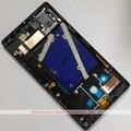 Para Nokia Lumia 930 Preto Front Housing Faceplate Quadro Painel Frontal Tampa de Peças de Reparo Frete Grátis