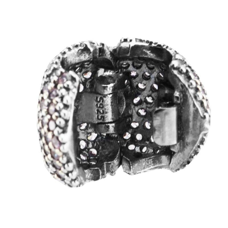 b41ef5d2009b Se adapta para Pandora pulseras Pave abrir mi corazón Clips perlas ...