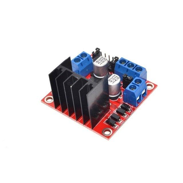 L298N Dual H-Bridge Motor Driver Module