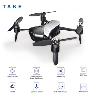 Image 1 - De gran toma Quadcopter VS DJI Spark Mini Drone con cámara Drones con cámara HD FPV Quadcopter del helicóptero de RC