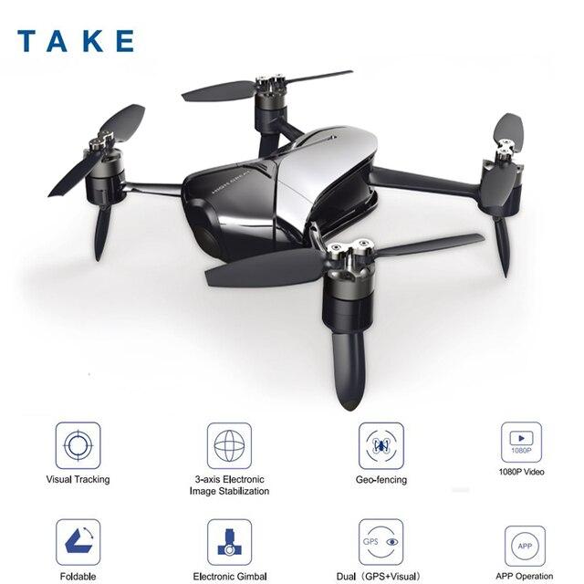 De gran toma Quadcopter VS DJI Spark Mini Drone con cámara Drones con cámara HD FPV Quadcopter del helicóptero de RC