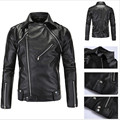 High Quallity Men'S Leather Jackets Men Coat Jaqueta Masculina Men'S Pu Jacket Leather Motorcycle Men Leather Jackets A2180