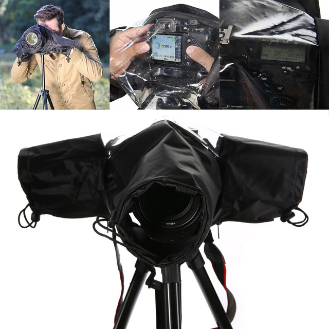 Mayitr Professional Camera Rainproof Protector Waterproof Camera Rain Cover  Bag for DSLR Cameras 20b4e5cad6b4e