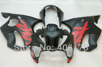 Cbr 600 f4 fairings 99 00 For CBR600F4 1999 2000 Matte Black Motorcycle Fairings (Injection molding)