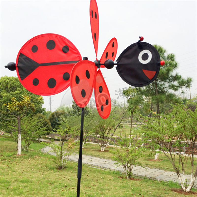 Bee Beetle Animal Windmill Garden Ornaments Multicolor Wind Spinner  Whirligig Garden Windmill Cloth For Garden Home Decor C0 On Aliexpress.com  | Alibaba ...