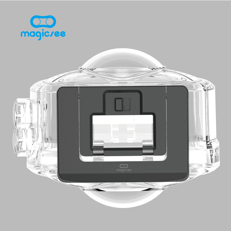 Magicsee Outdoor Sport Action Camera Waterproof Case for Magicsee P3