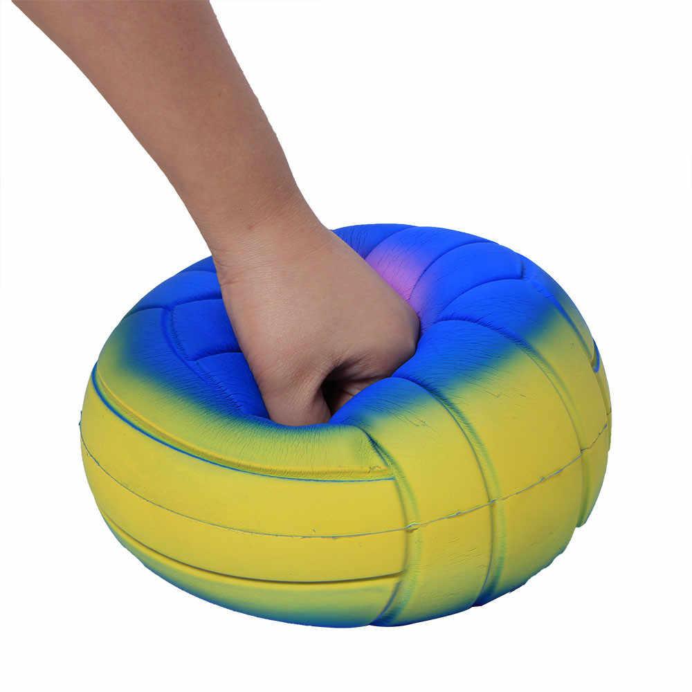 Exprimidor suave Jumbo Super gigante suave voleibol lento aumento exprimidor estrés juguete divertido regalo Z0226
