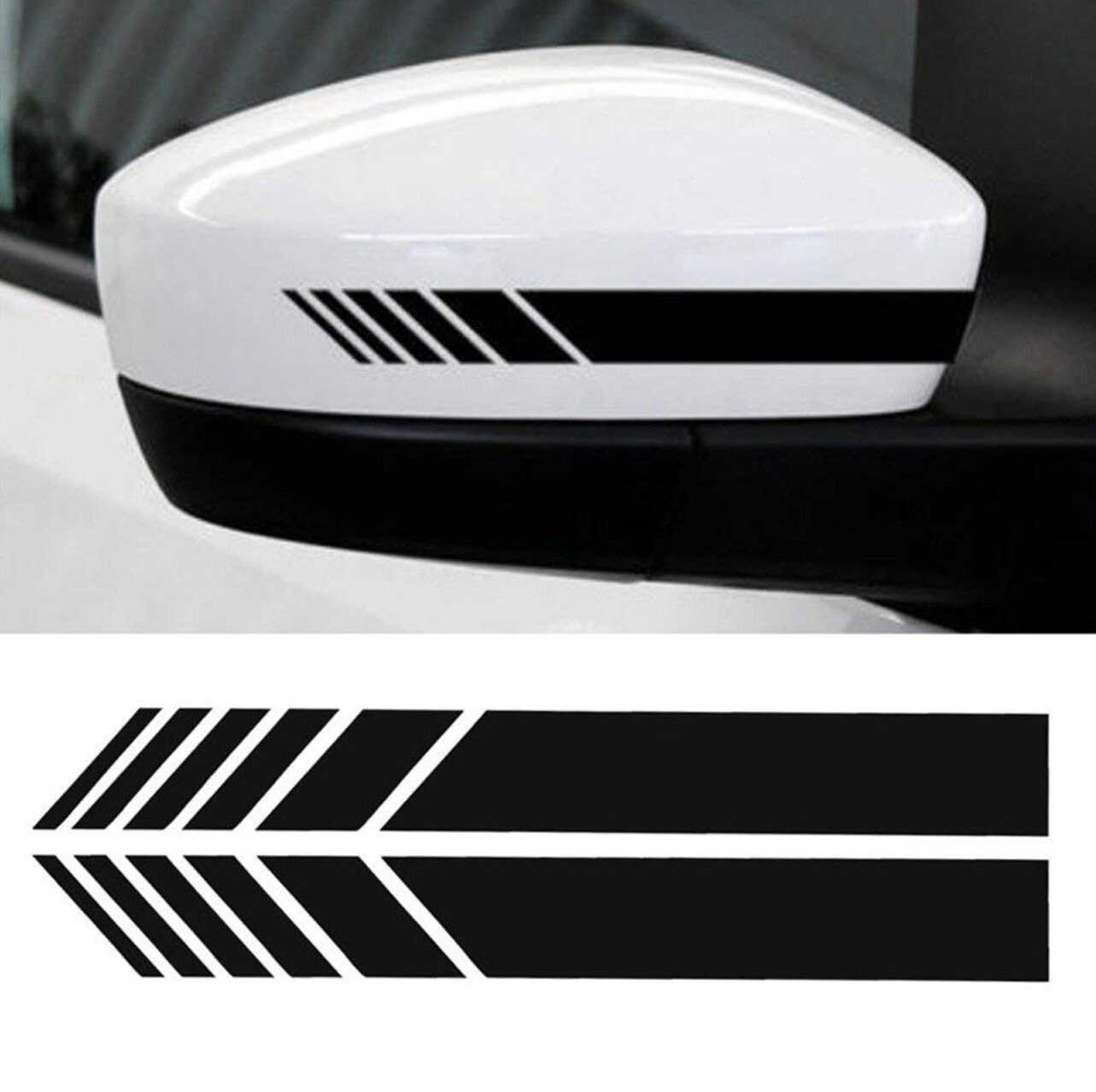2PCS Universal Car Specchio Retrovisore Laterale Trim Decal Tuning Auto Accessori Del Vinile Graphic FAI DA TE 3D Sticker Forniture Esterne