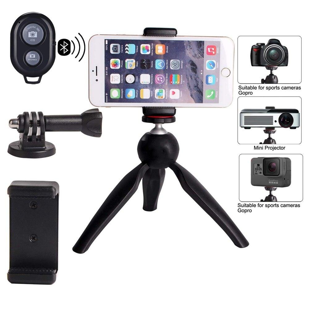 Phone Tripod Camera Stand Premium Mini Selfie Hand  Tabletop Tripod -1